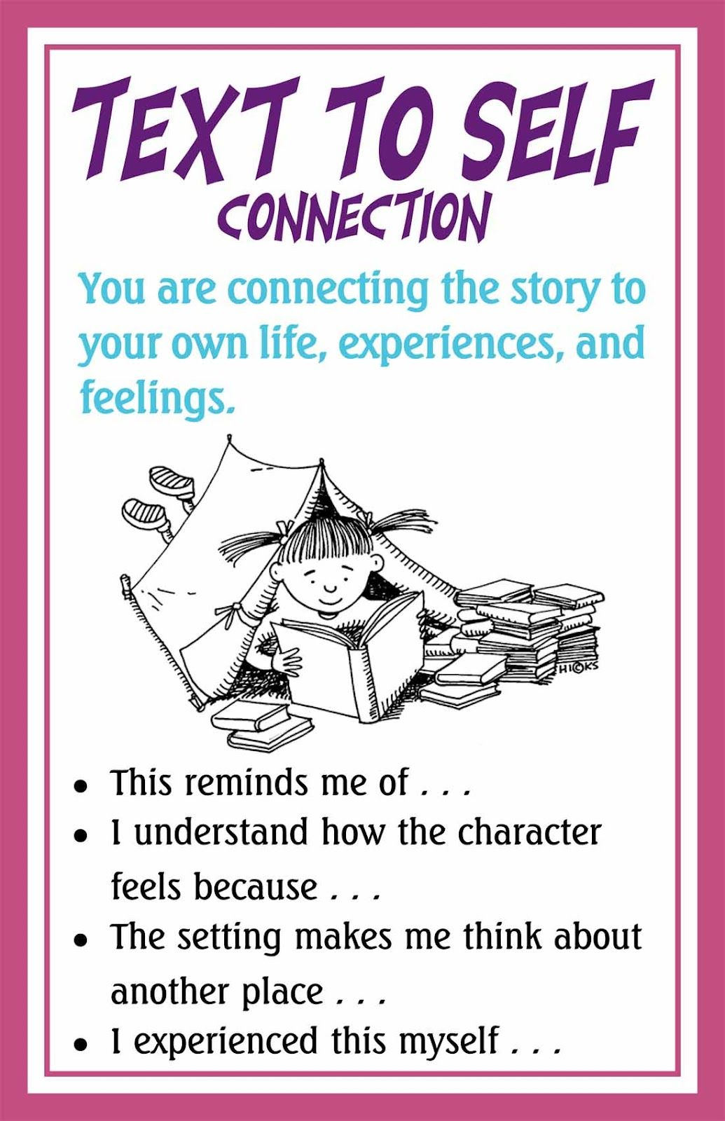 Making Connections Text to self connection, Text to self