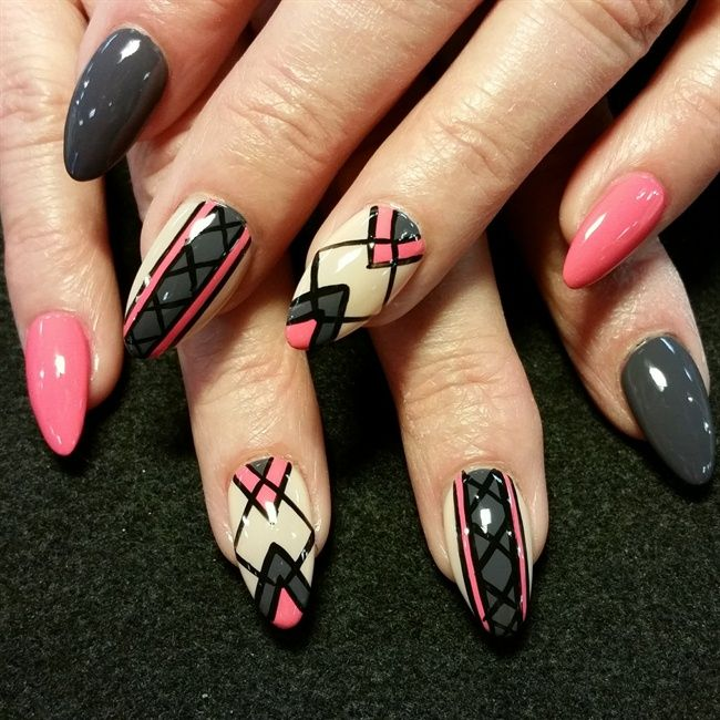 Deco Nails by Oli123 via @nailartgallery #nailartgallery #nailart ...