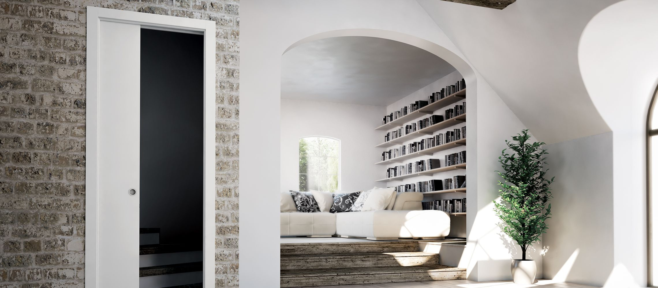 Scrigno Gold For Sliding Doors Make The Most Of The Open
