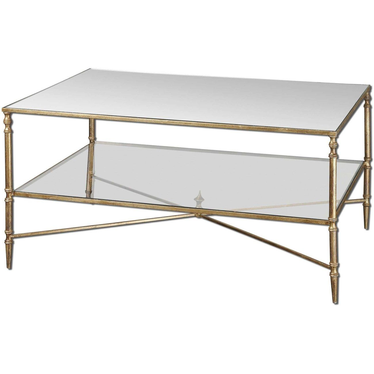 Henzler Mirrored Glass Coffee Tabledefault Title In 2021 Gold Coffee Table Mirrored Coffee Tables Iron Frame Coffee Table [ 1300 x 1300 Pixel ]