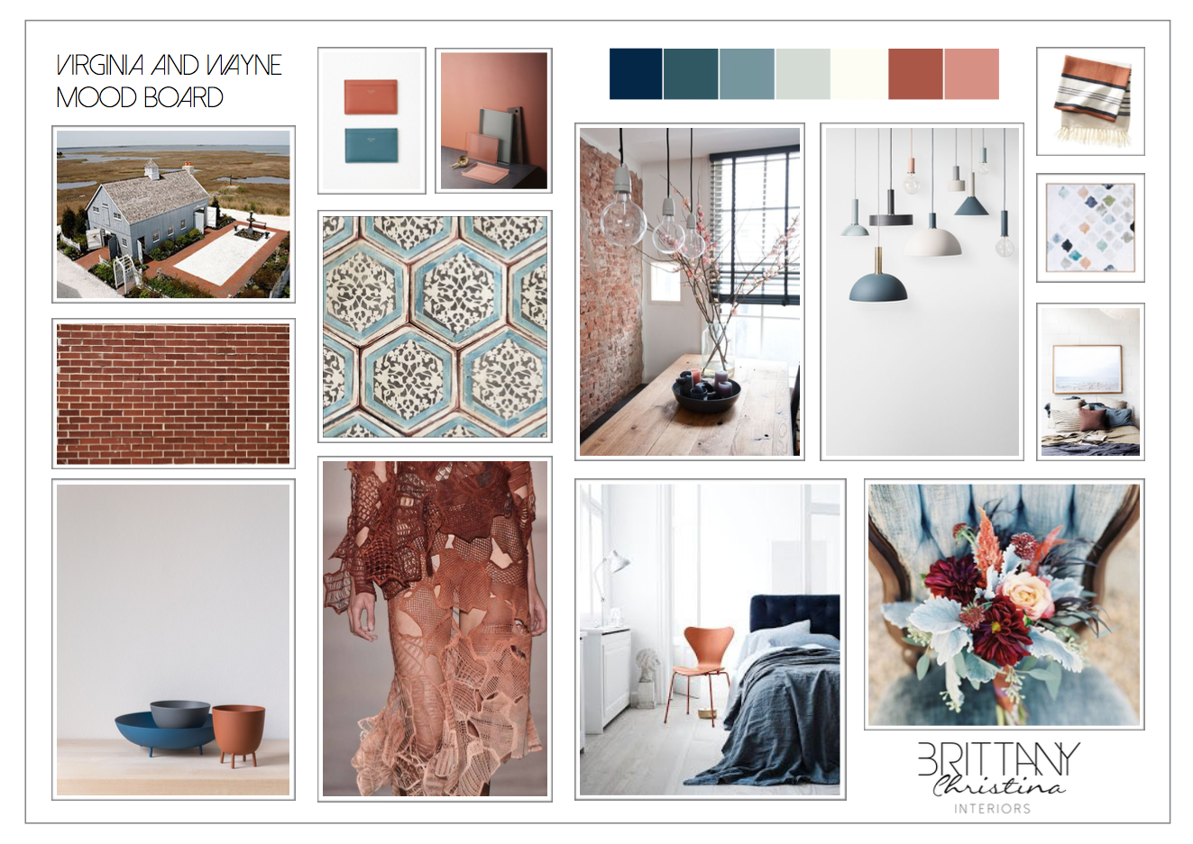 Bespoke Digital Mood Board With Images Interior Design Mood