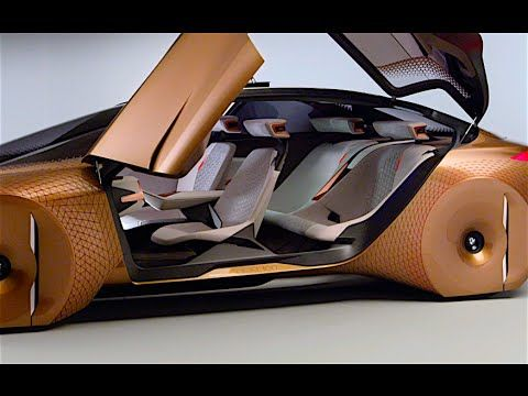 Bmw Vision Interior Review New Bmw Self Driving Car World Premiere