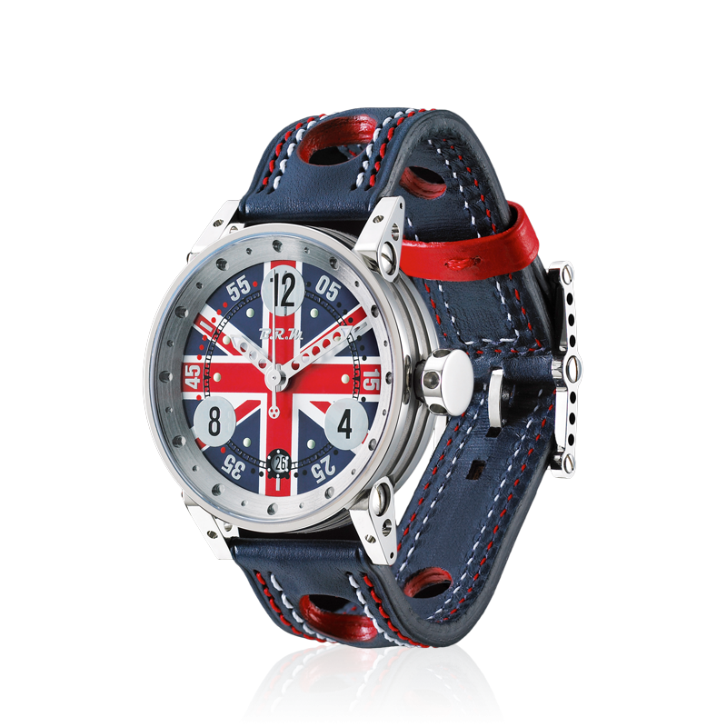 B.R.M. - V6-44 - The V6-44 is a relatively large watch that has been designed as a tribute to England. Just li...