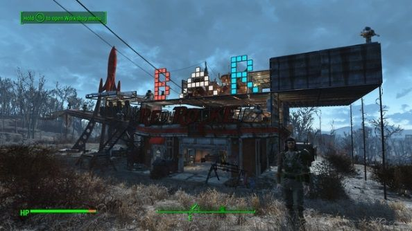 Fallout 4 Red Rocket Garage bar   Fallout Shit   Fallout