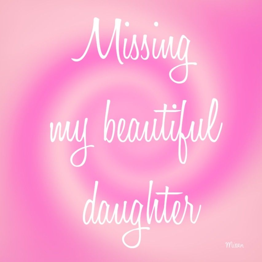Missing my beautiful daughter #Miran | Broken heart ...