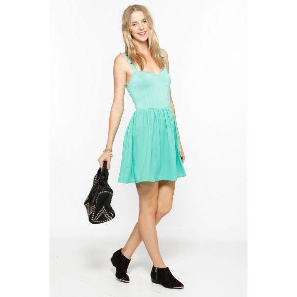 Skater Dresses - Dresses via Polyvore featuring dresses, skater dress, formal skater dress, formal wear dresses and formal dresses