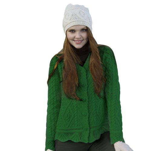 100% Merino Wool Large Lace Button Cardigan, Green, Small Siopa,http://www.amazon.com/dp/B00CS165YE/ref=cm_sw_r_pi_dp_fbhnsb02NVP8KA78