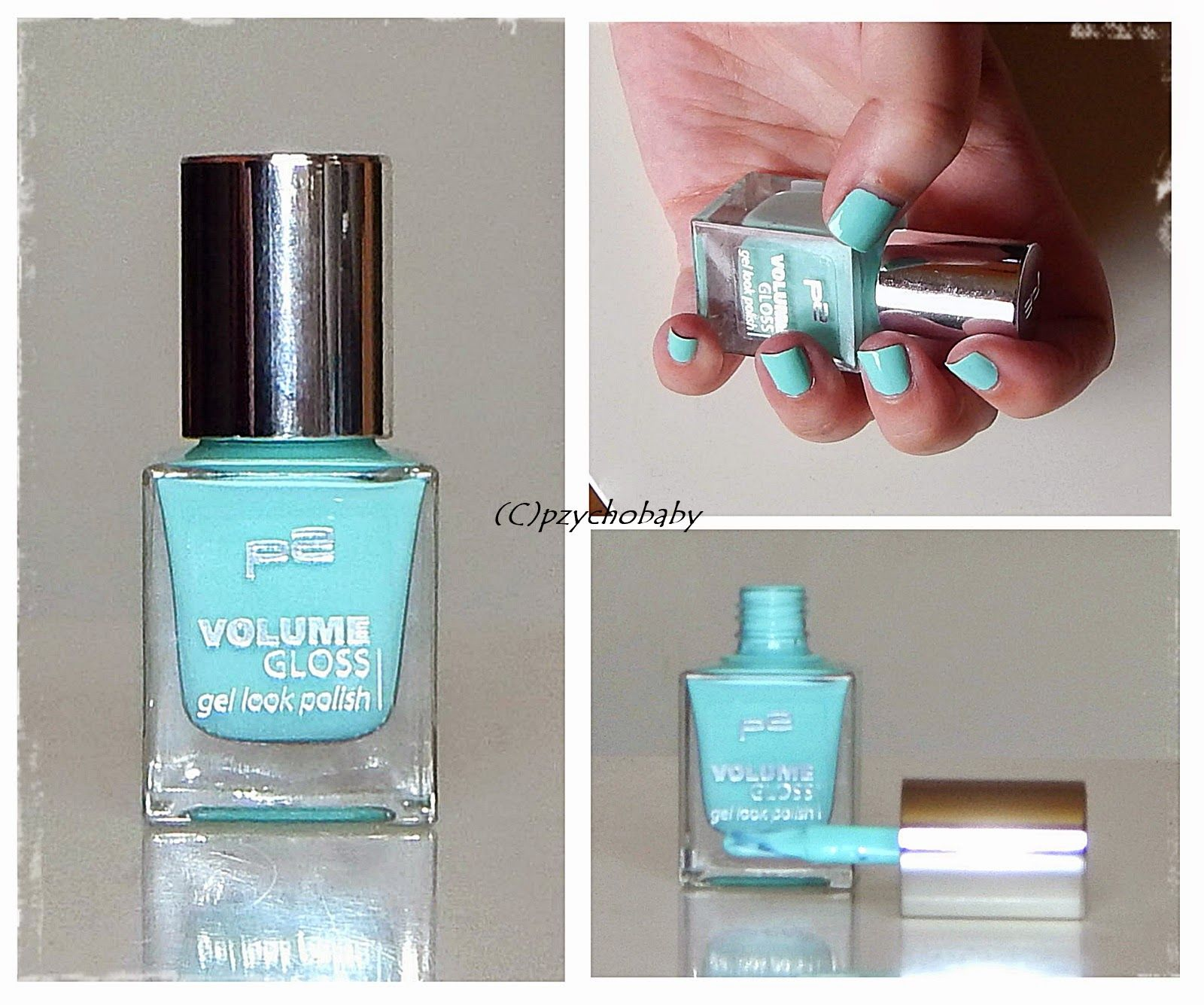 p2 VOLUME GLOSS gel look polish - 031 minty mademoiselle   Munich ...