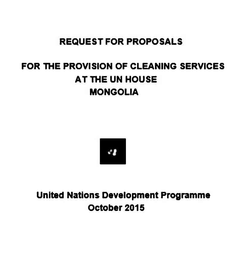 Printable cleaning proposal template proposal templates