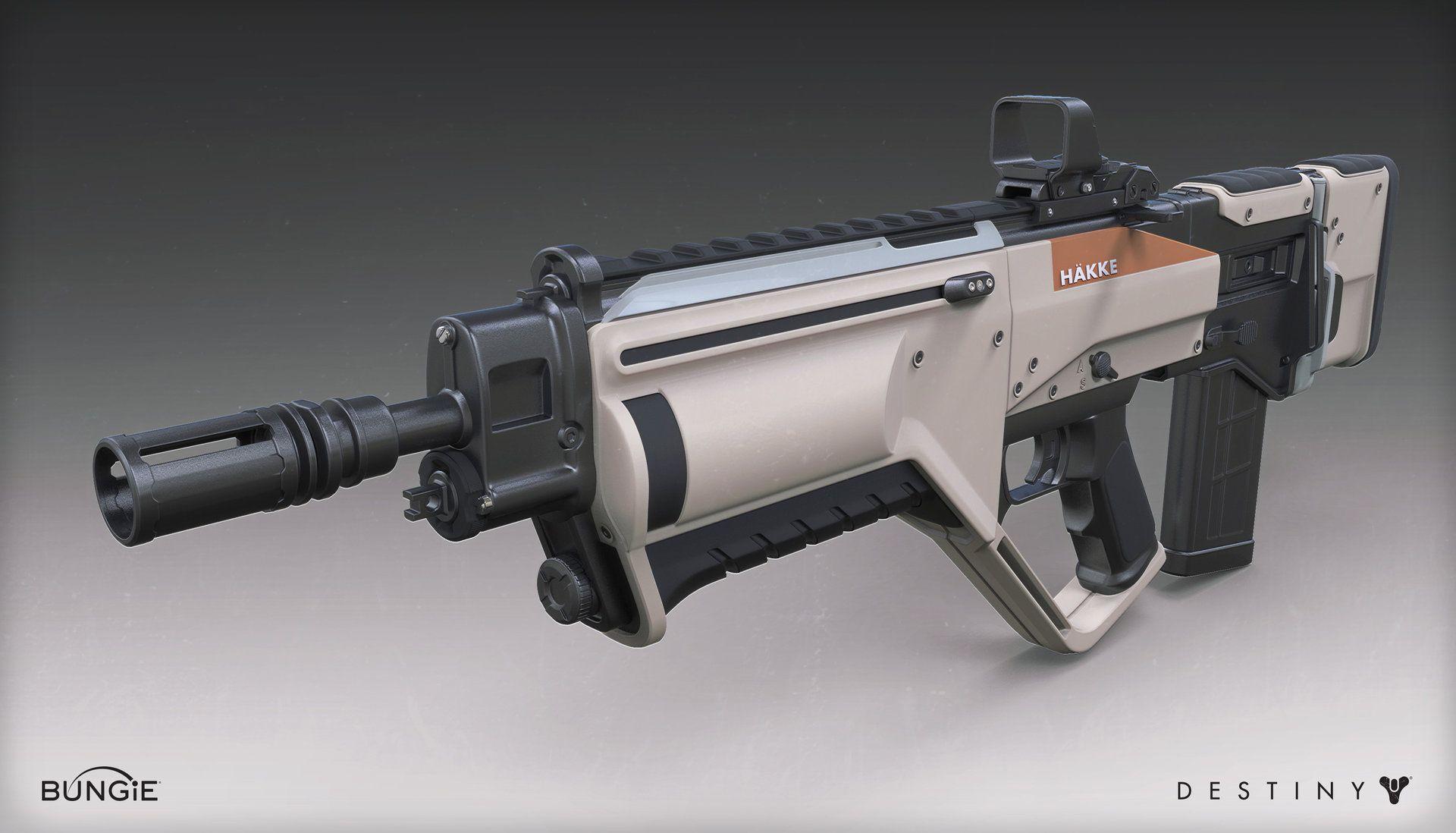Artstation Destiny The Taken King Hakke Pulse Rifle Mark Van