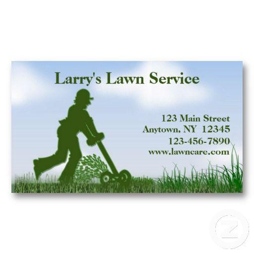 Lawn Care Business Card Lawn care business - lawn care invoices