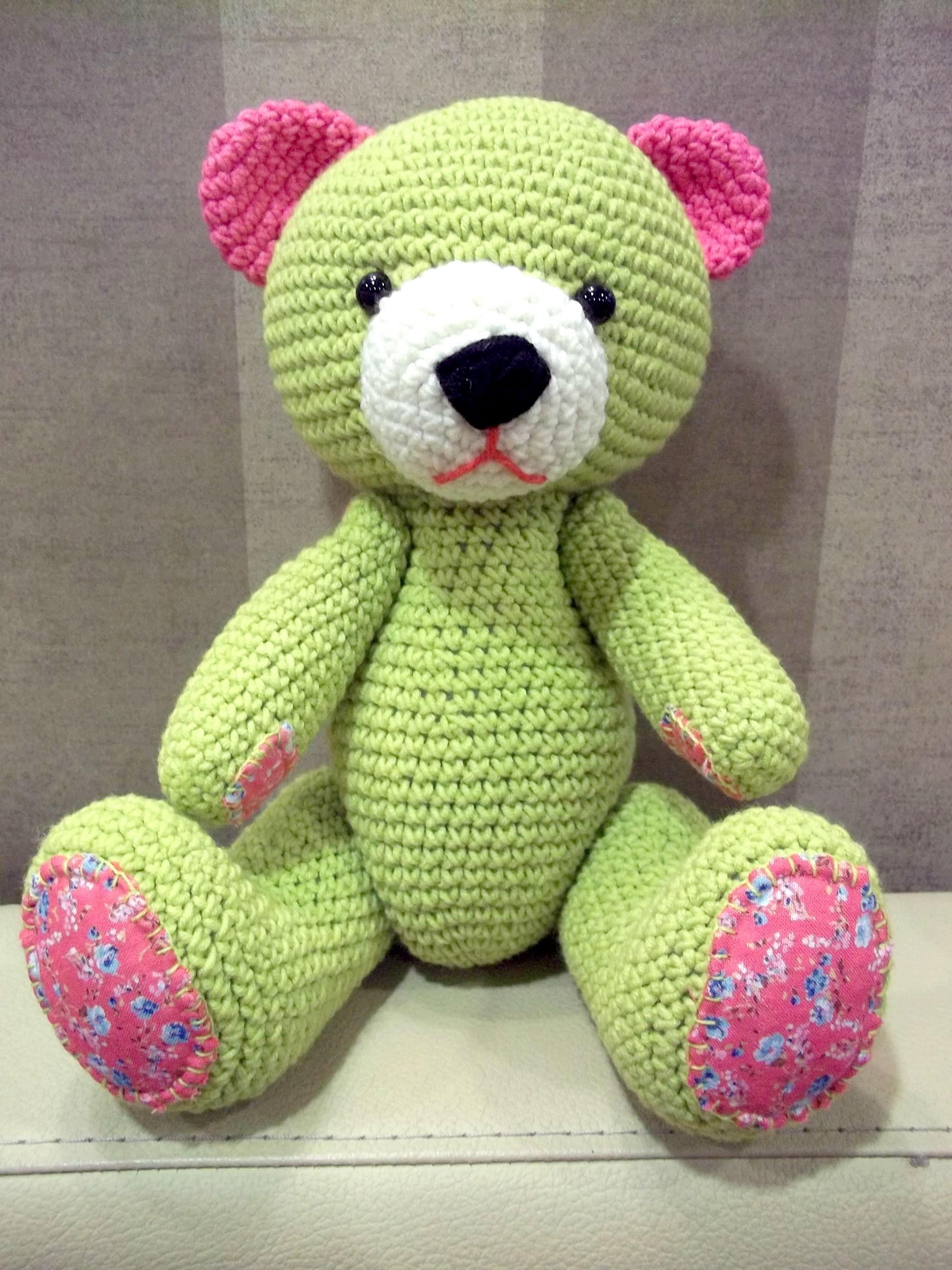 Teddy bear toys images  Check Out my GlobeIn Wishlist  Amigurumi  Pinterest  Crochet bear