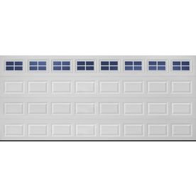 Shop reliabilt 16 ft x 7 ft traditional insulated double for 16 ft garage door prices