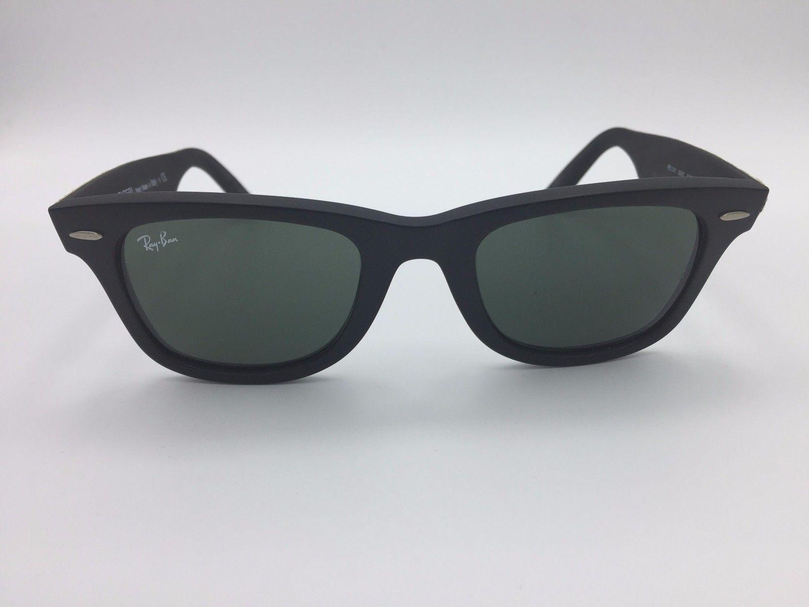 Ray Ban Sunglasses RB2140 Camo Wayfarer Frame w  Green Lens   Style ... 61055ad0ad