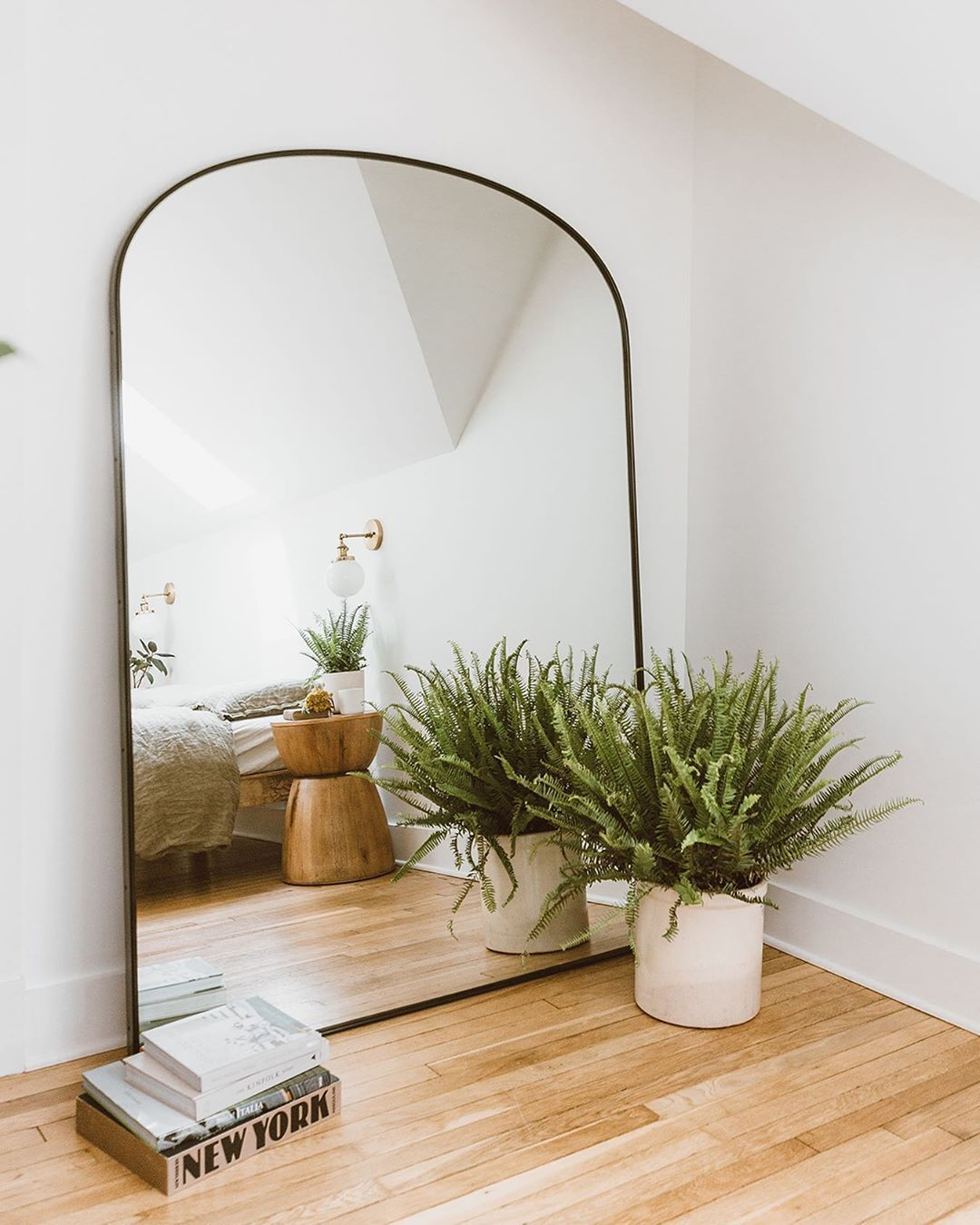 3 884 Likes 83 Comments Christine Higgs Forthehome On Instagram Rejuvenation Is Really Good Mirror Dining Room Floor Mirror Living Room Floor Mirror