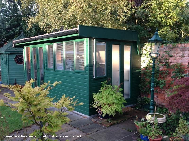 garden room / workshop is an entrant for Shed of the year 2014 via @readersheds  #shedoftheyear