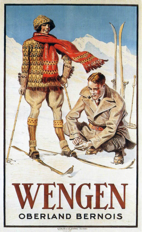 Vintage Ski Posters Buscar Con Google Retro Affisch Vintage