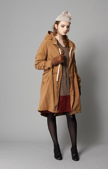 kha:ki 2way Long Field Coat mil-jk20  37,800yen Washed Wool Switch OP mil-op13  18,900yen