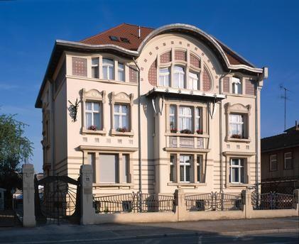 Quedlinburg (SaxonyAnhalt), Germany Art Nouveau Villa
