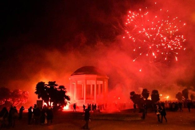 2017 – New Year\'s celebration Dec. 31 in Livorno, Terrazza Mascagni ...