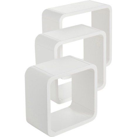 3 etageres cubes blanc blanc n 0 color