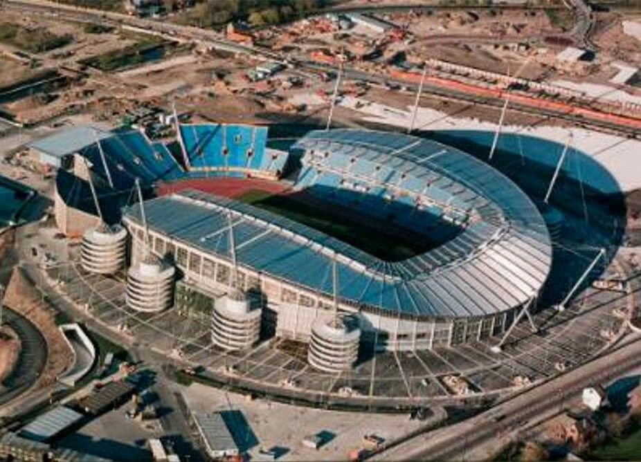 Estadio Ciudad De Manchester Sede Del Manchester City Stage Of