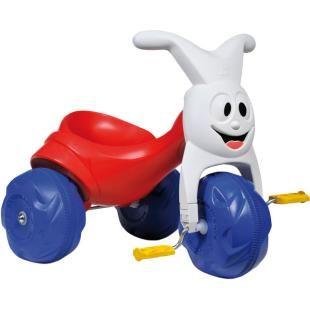Triciclo Bandeirante Tico Tico Europa, uma diversão para seu filho.    O clássico da Brinquedos Bandeirante.