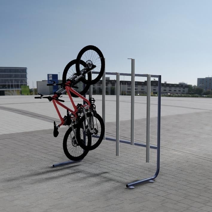 vertical bike rack biker rack pinterest vertical bike rack storage and storage ideas. Black Bedroom Furniture Sets. Home Design Ideas