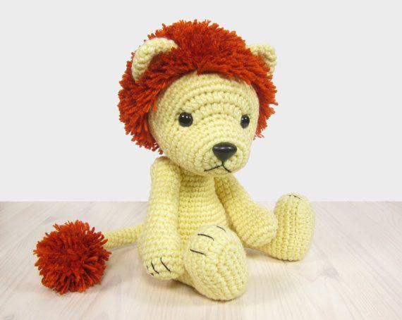 PATTERN: Lion Amigurumi lion pattern Crochet por KristiTullus ...