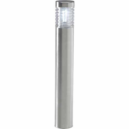 Garden Lights Orion Garden Bollard Light 12 Volt H 410mm W 60mm Stainless Steel Bollard Lighting Led Bulb Led Lights