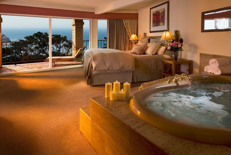 tickled pink inn carmel ca accommodations reserve a spa. Black Bedroom Furniture Sets. Home Design Ideas