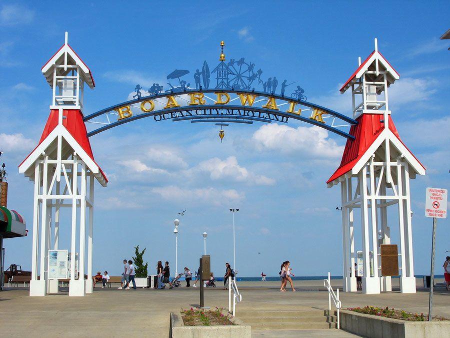 Top 15 Summer Vacation Destinations Ocean city boardwalk
