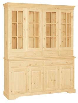 Hutch, Available In Pine, Maple U0026 Oak | Bare Woods Furniture | Real Wood