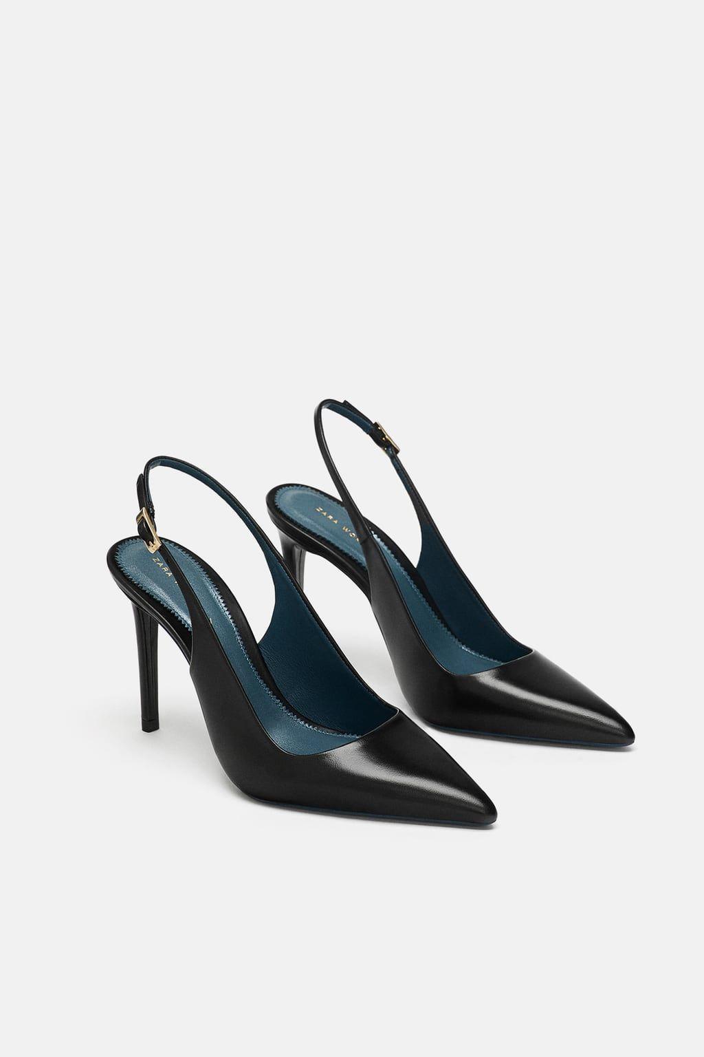e18fda54 Imagen 1 de DESTALONADO PIEL de Zara | Calzado en 2019 | Zapatos ...