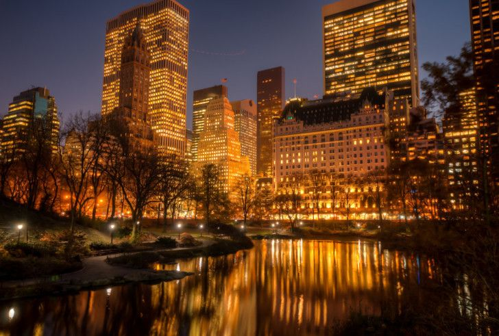 New York City Hd Wallpapers New York City Bathed In Gold Celwall Com Cool Wallpapers Insp New York City Central Park New York Hotels New York City Christmas