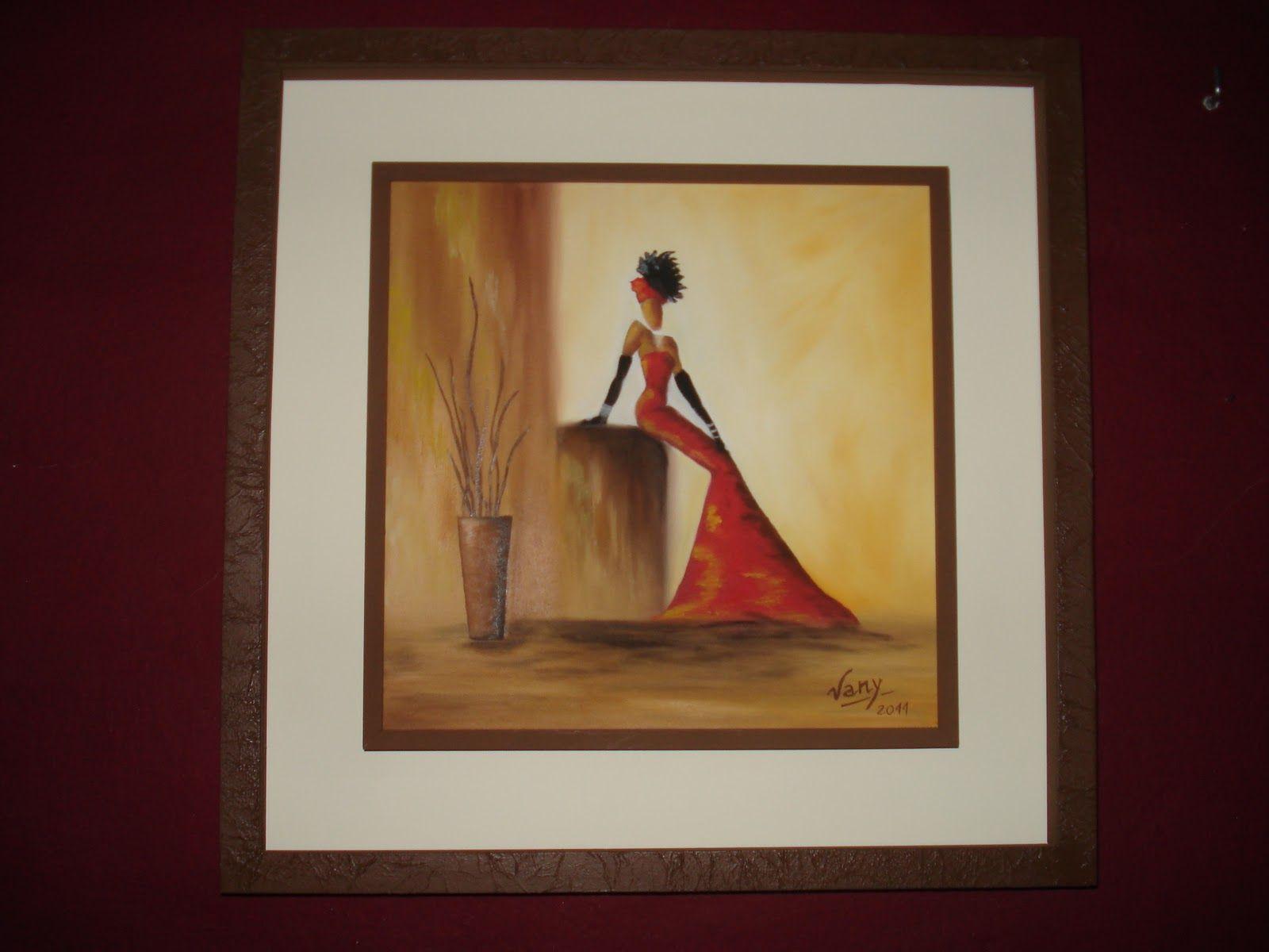 Vany africanas modernas cuadro de mujeres muy elegante - Cuadros muy modernos ...