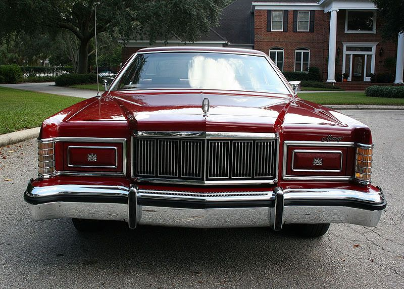 1978 Mercury Marquis Sedan Dark Red Mjc Classic Cars Pristine