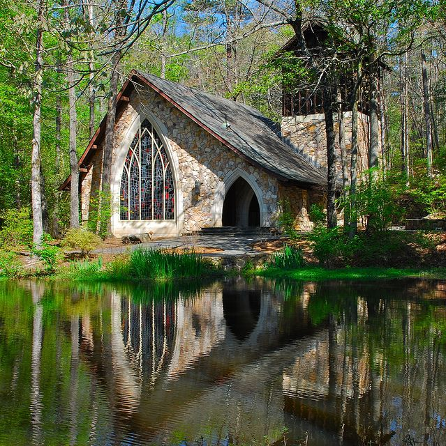 The Chapel At Callaway Gardens By StephenReed, Via Flickr