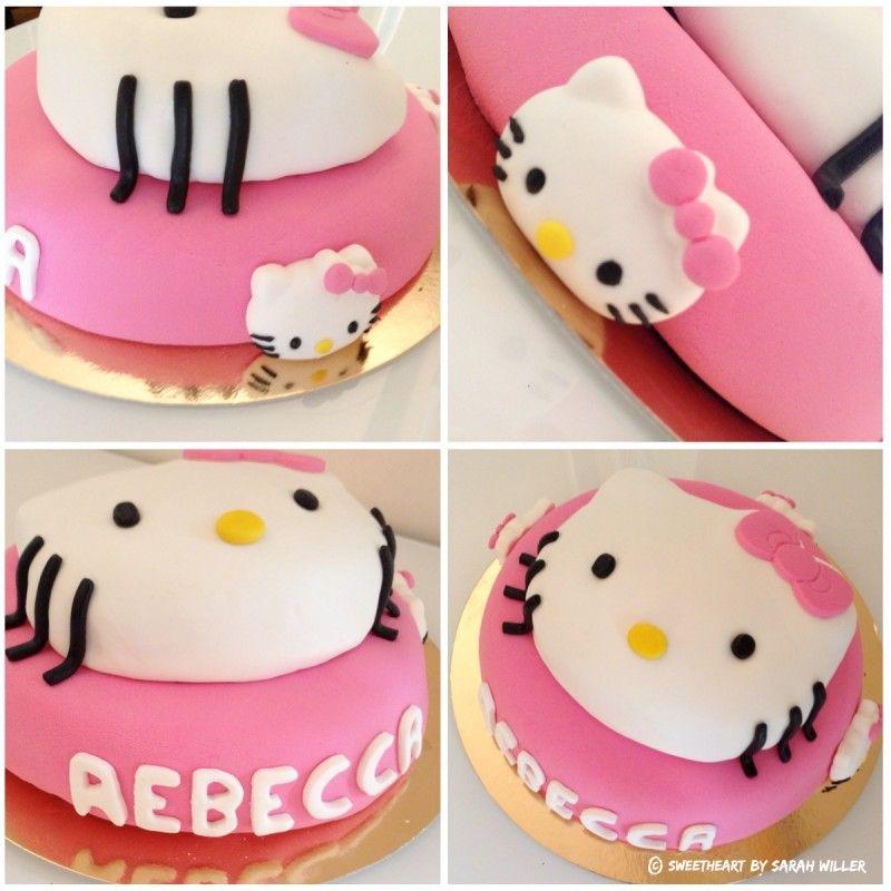 hello kitty gateau d 39 anniversaire p te sucre cake design d co g teaux biscuits pinterest. Black Bedroom Furniture Sets. Home Design Ideas