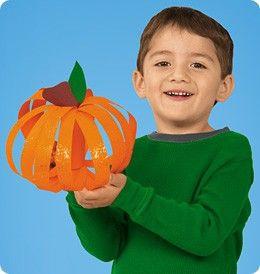 Classic fall preschool craft