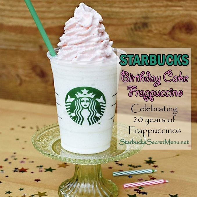 Vanilla Bean Frappuccino Hazelnut syrup Topped with raspberry infused whipped cream