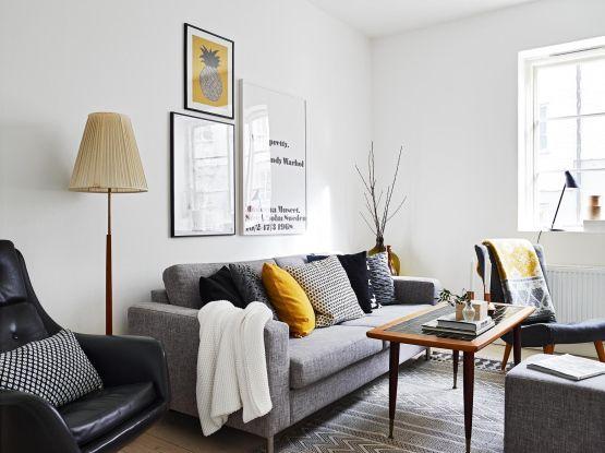 vintage interiores espacios pequenos 2 estilo nordico escandinavia ...