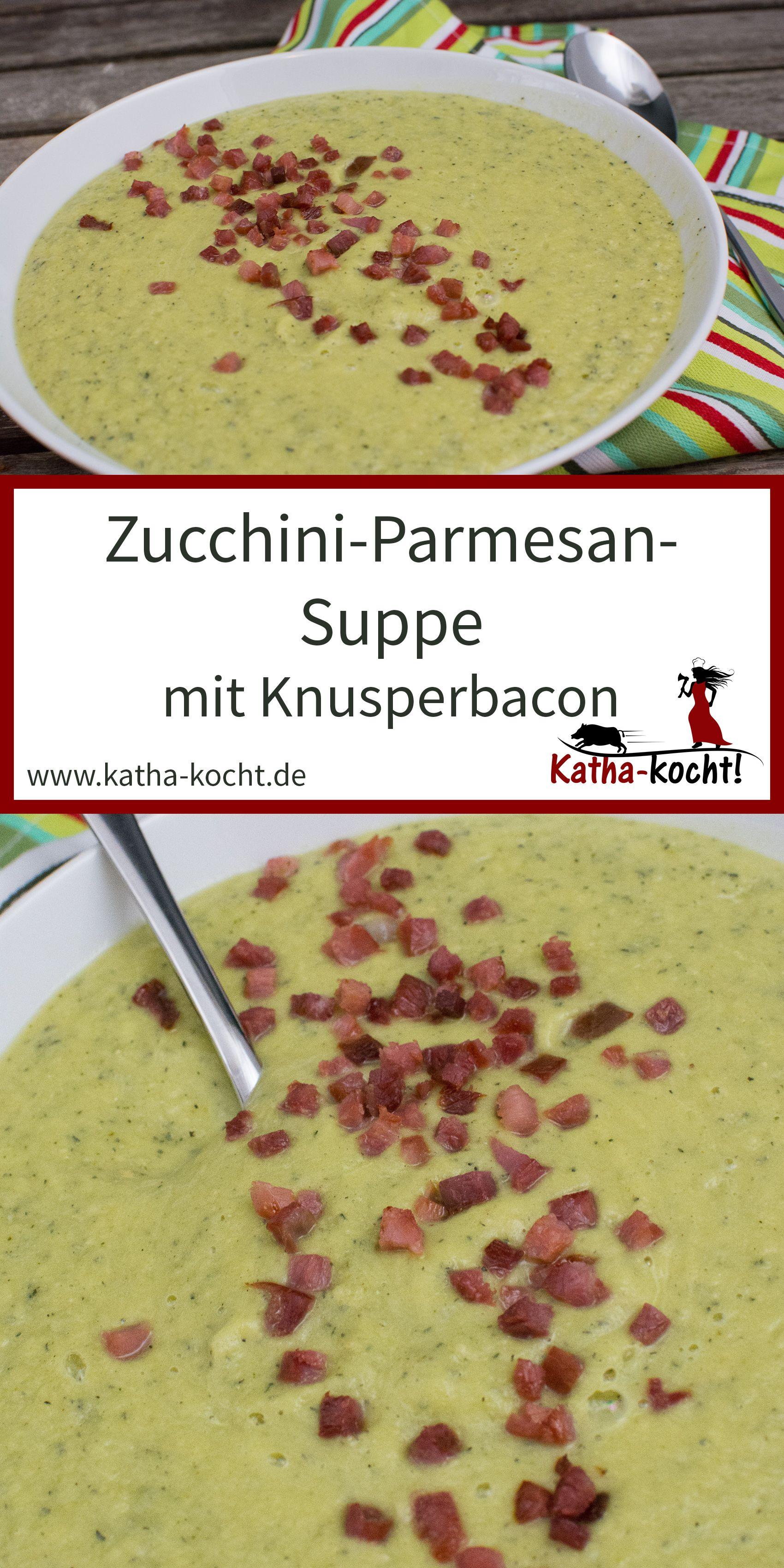 Photo of Zucchini-Parmesan Suppe