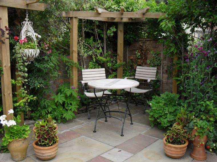 Outdoor Dining Room Decoration Ideas Small Courtyard Designs