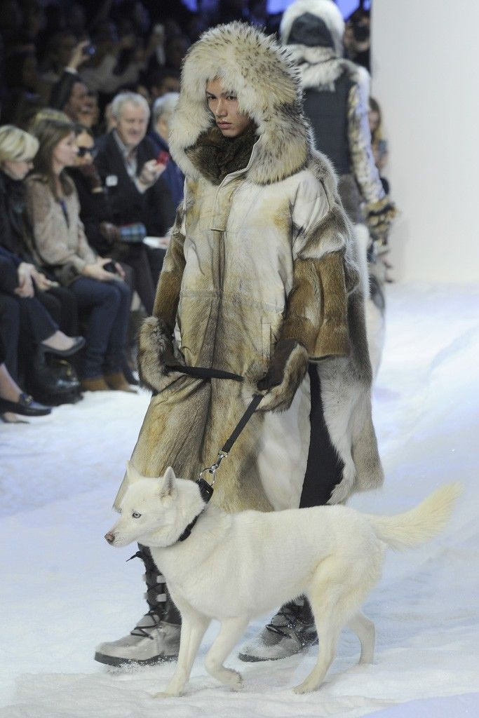 Animals on the Runway: Moncler Gamme Rouge RTW Fall 2013