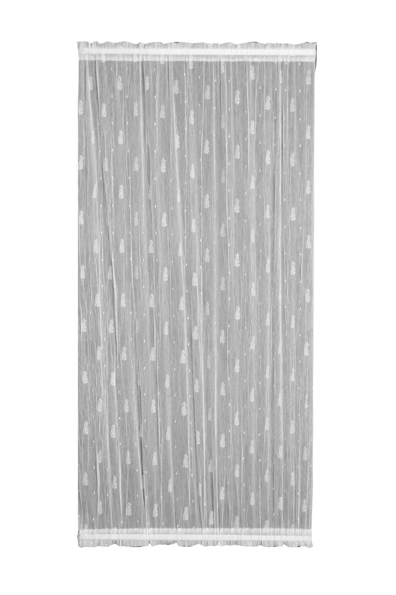Pineapple 45X72 Door Panel, White