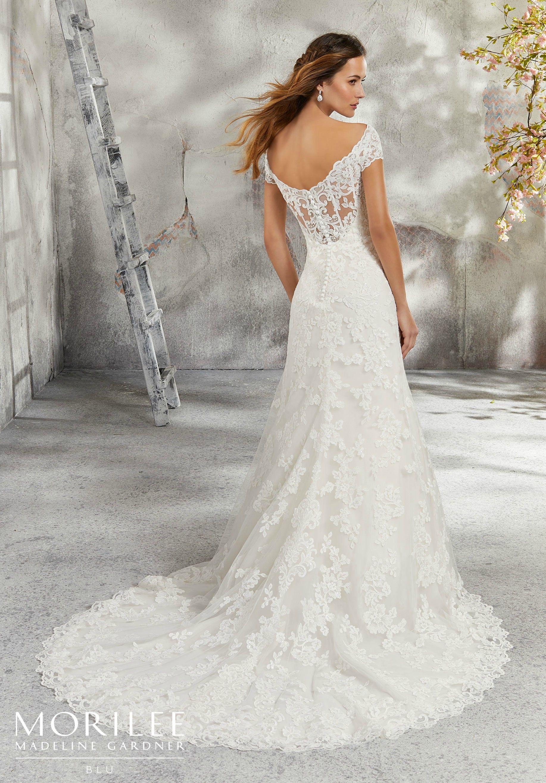Linda wedding dress statement backs pinterest hemline bridal