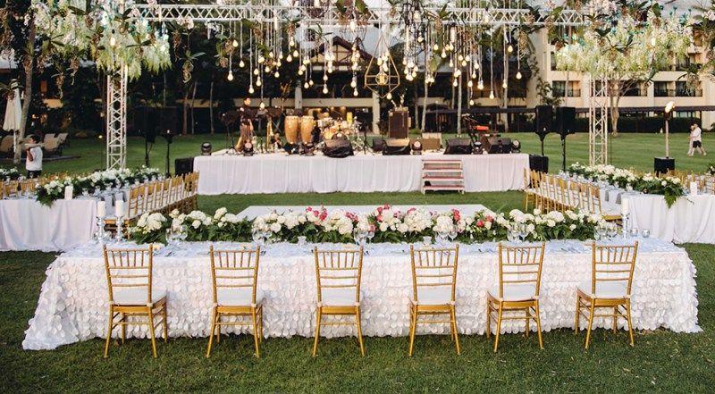 A Rustic Garden Wedding At Shangri La S Rasa Ria Resort Rustic