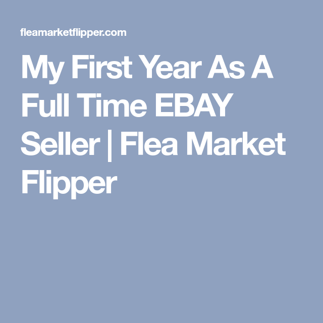 How We Made $128,548 in Our First Year as Full Time eBay