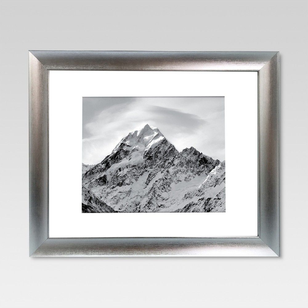 8 X 10 Matted For 8 X10 Silver Frame Threshold Frame Frame Display Wood Picture Frames